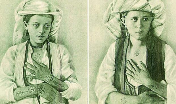 Татуировки крестами: Женская славянская традиция, корни которой ищут давно и безуспешно