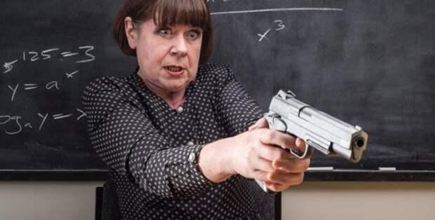 Вооружённая охрана в школе не нужна: люди с оружием нужны