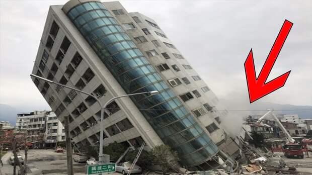 Ошибка строителя: снос 10 зданий пошел не так, как планировалось