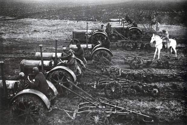 Сколько тракторов использовалось в Рейхскомиссариате Украина?
