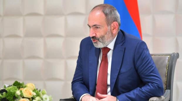Никол Пашинян: Азербайджан вторгся на территорию Армении