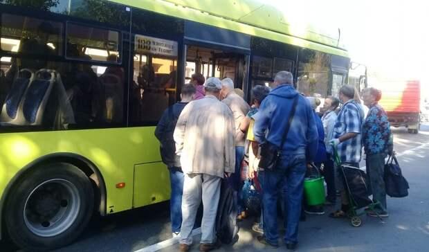 Денис Паслер потребовал увеличить количество рейсов надачных маршрутах Оренбурга