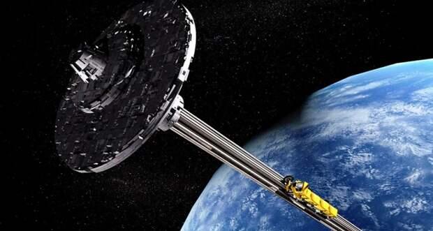 Можно ли создать космический лифт для вывода грузов на орбиту