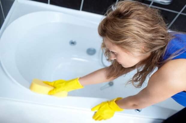 Смесь, которая поможет сделать вашу ванну белоснежной без особых усилий