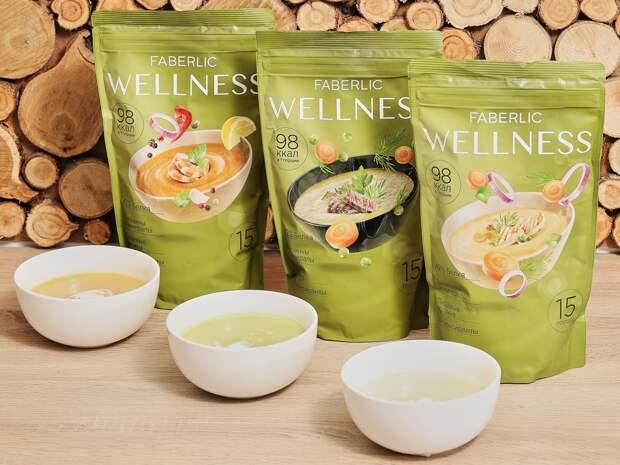 Wellness: обновили линейку белковых супов!
