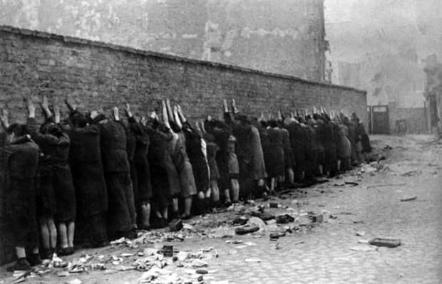 Варшавское гетто война, страшно, фото