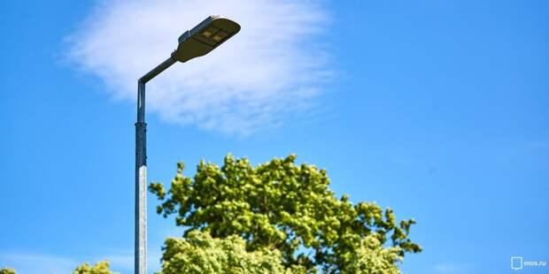Свыше 60-ти фонарей установят во дворах Бабушкинского в этом году