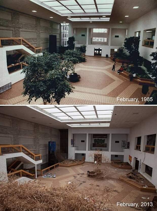 12 фото мест до и после того, как их бросили на произвол судьбы