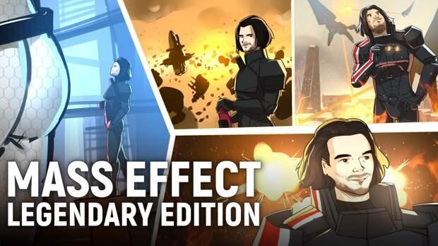 Mass Effect: Legendary Edition: Mass Effect Legendary Edition. Текстурки, зад Миранды и Жнецы