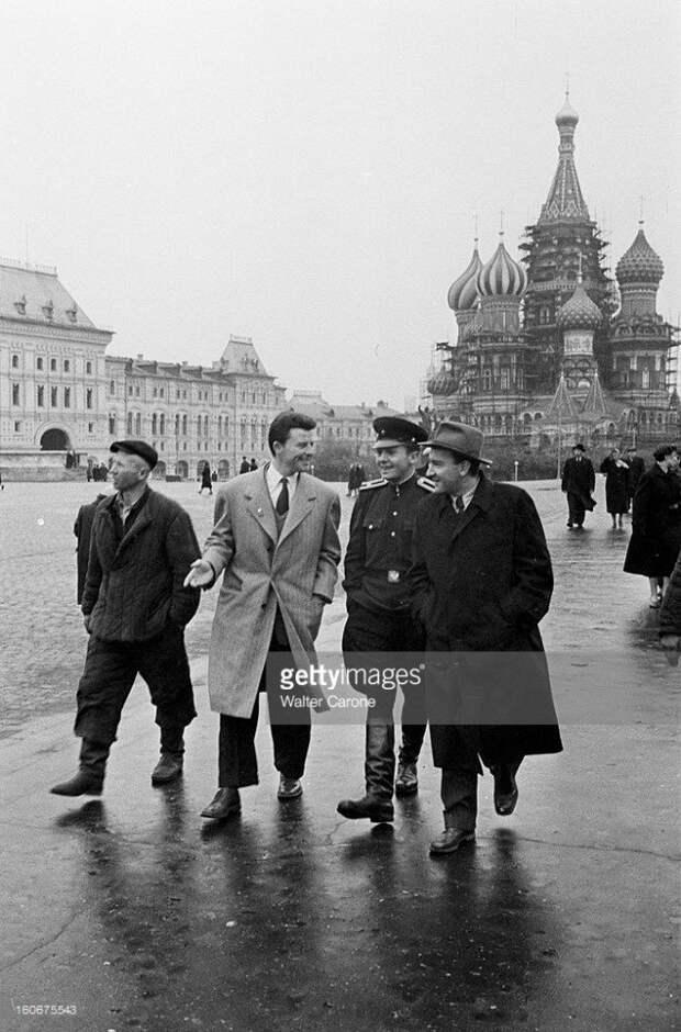 Жерар Филип в Москве в 1951-1955 годах.