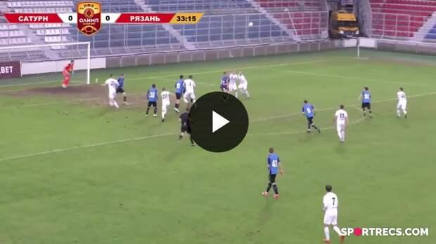 Обзор матча «Сатурн» - «Рязань» - 0:0