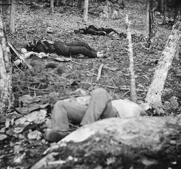 Жертвы Гражданской войны. Фотография Александра Гарднера
