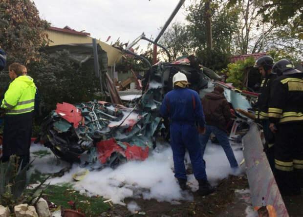В Сочи пилота осудили за крушение вертолета и гибель пассажиров