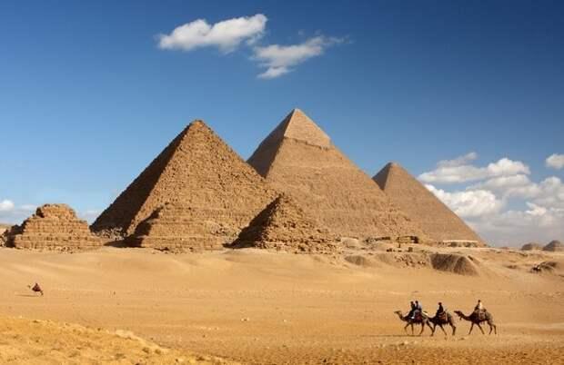Как построили Египетские пирамиды?