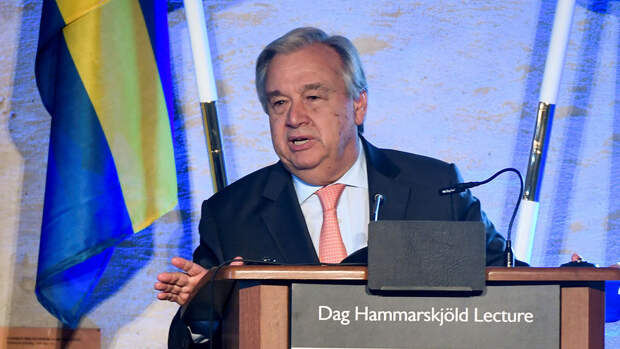 Генсек ООН назвал три сферы для сотрудничества с Россией