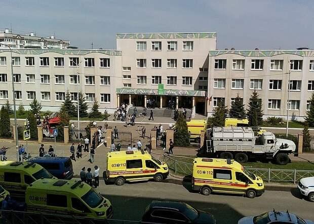 Состояние 14 пострадавших при стрельбе в школе в Казани стабильное