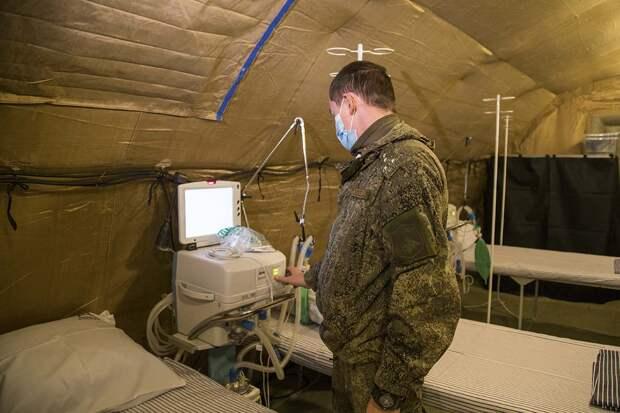 Военные ковидные госпитали в Ялте и Симферополе перестают работать