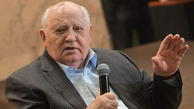 Горбачев написал статью о необходимости диалога между Россией и США