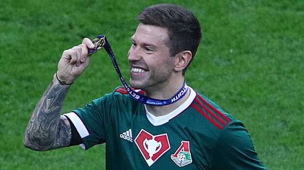 Смолов ответил Черчесову: забил победный в финале Кубка и стал лучшим игроком матча