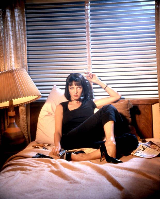 Ума Турман (Uma Thurman) в фотосессии Фируза Захеди (Firooz Zahedi) для фильма Pulp Fiction (1994), фото 4