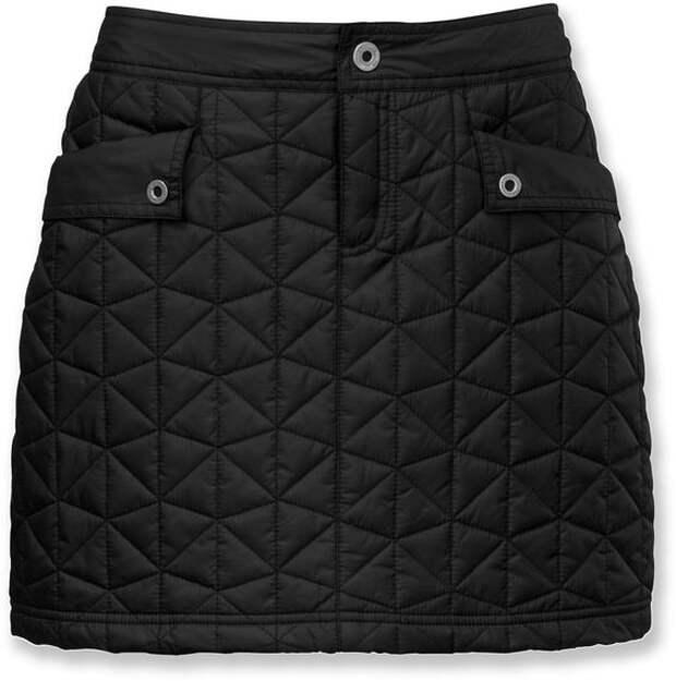 11 стеганых юбок на зиму - идеи