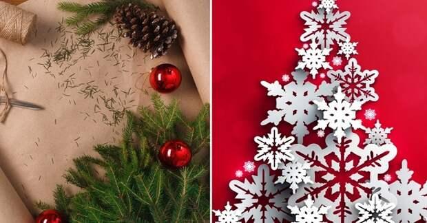11 идей удивительного новогоднего декора из бумаги. Бюджетный способ украсить дом к зимним праздникам.
