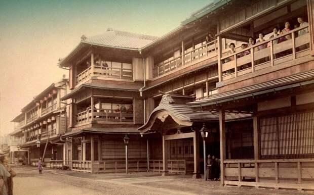 1897. У проституток выходной. Квартал Ёсивара