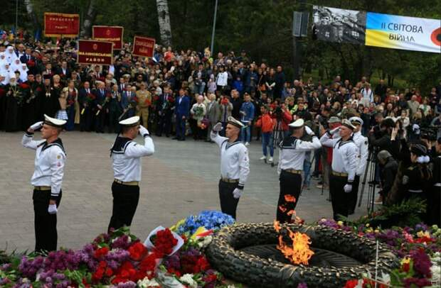 Одесса 9 мая 2019 года: марш в честь Дня Победы