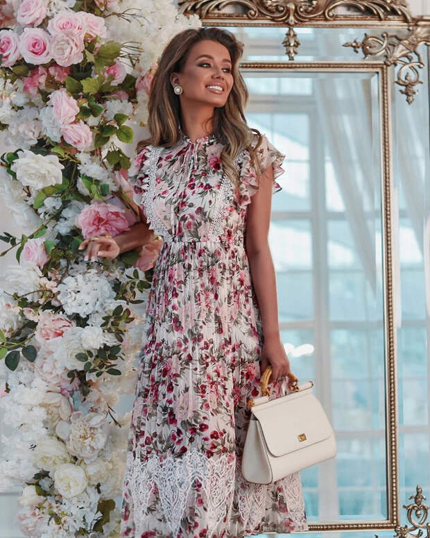 Настоящий восторг! Цветочный принт 2021 – сама женственность и изящность