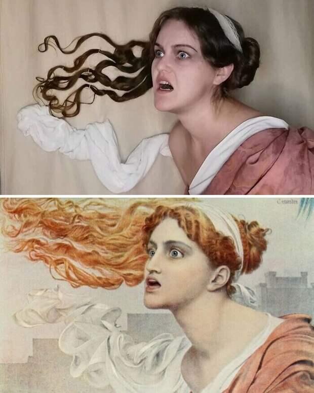 "2. Фредерик Сэндис ""Кассандра"" (1860)"