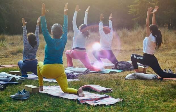 Для пенсионеров из Ростокина открылась группа по гимнастической растяжке