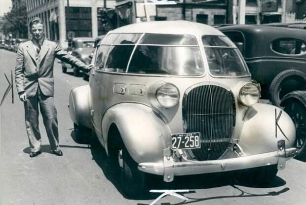 Такие притягательные машины собирала кузовная компания Hill Auto Body из Цинциннати авто, автомобили, атодизайн, дизайн, интересный автомобили, олдтаймер, ретро авто, фургон