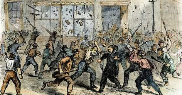 Битва клоунов с пожарными, беспорядки из-за задницы и другие дурацкие мятежи из истории