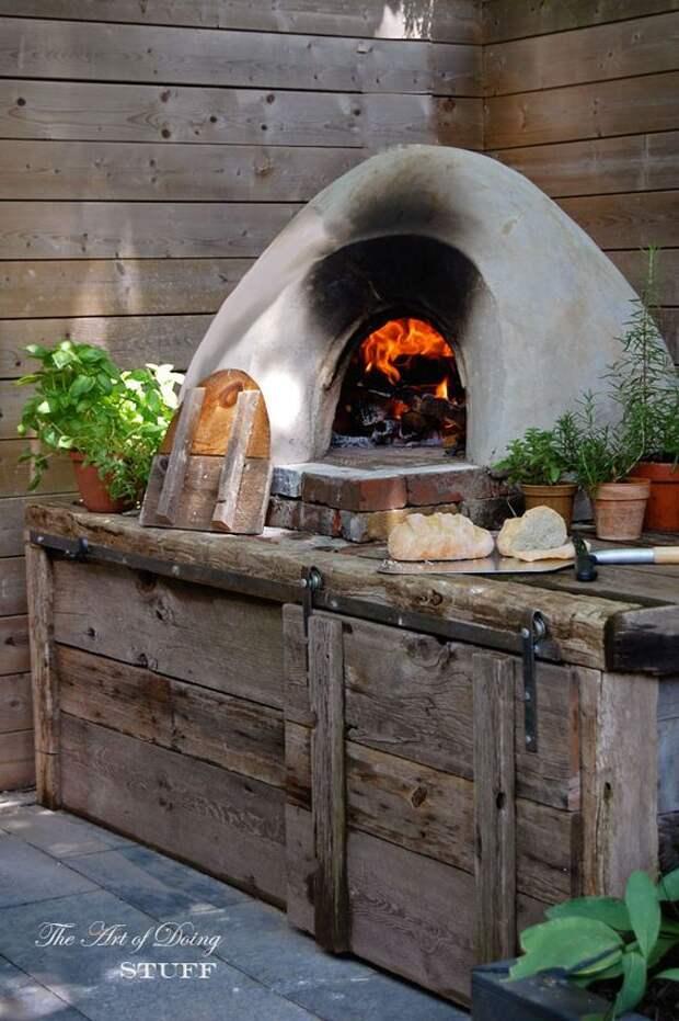 Уличная садовая печь: 20 удивительных идей для дома и дачи