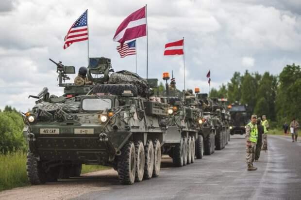 Пресса США: «Передовые силы НАТО в Прибалтике являются лишь заложниками»