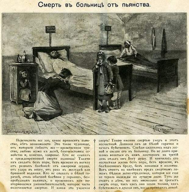 Антиалкогольная реклама в Российской Империи.