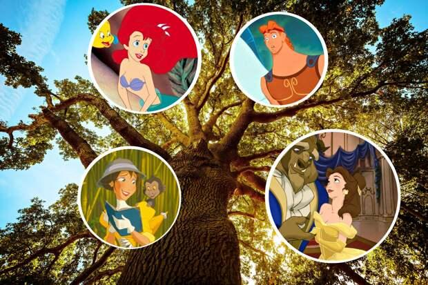 Кто бы мог подумать: неожиданные родственные связи персонажей Disney