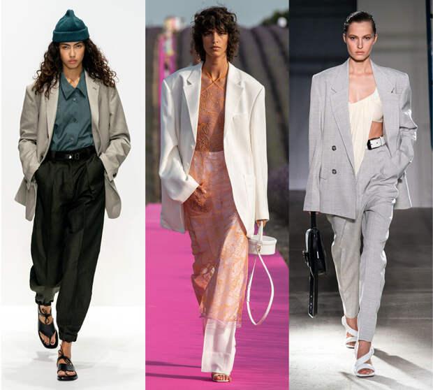 Почему костюмный пиджак с мужского плеча — важный тренд весна-лето 2020