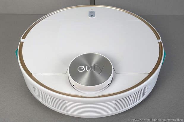 Моющий робот-пылесос Eufy L70
