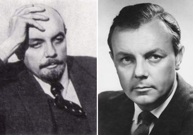 Кирилл Лавров сыграл Ленина в трех фильмах | Фото: dubikvit.livejournal.com и kino-teatr.ru