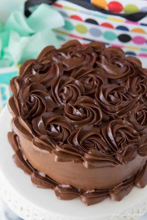 Шоколадный крем для Тортов из сливок и Шоколада, без масла!