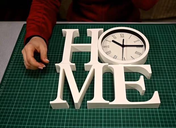 География в декоре, оригинальная переделка часов из Fix Price