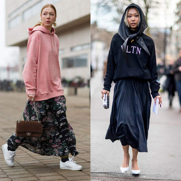 Модные толстовки женские 2020: тренды и новинки сезона