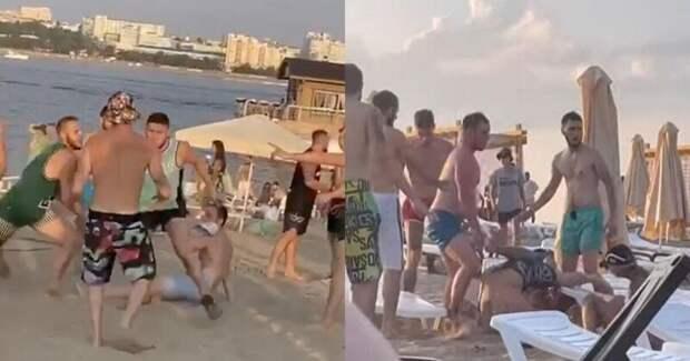 Девушек неподелили: мальчишник вСамаре напляже закончился массовым побоищем