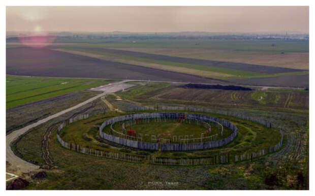 В «немецком Стоунхендже» обнаружен большой жилой район 2800 года до н.э