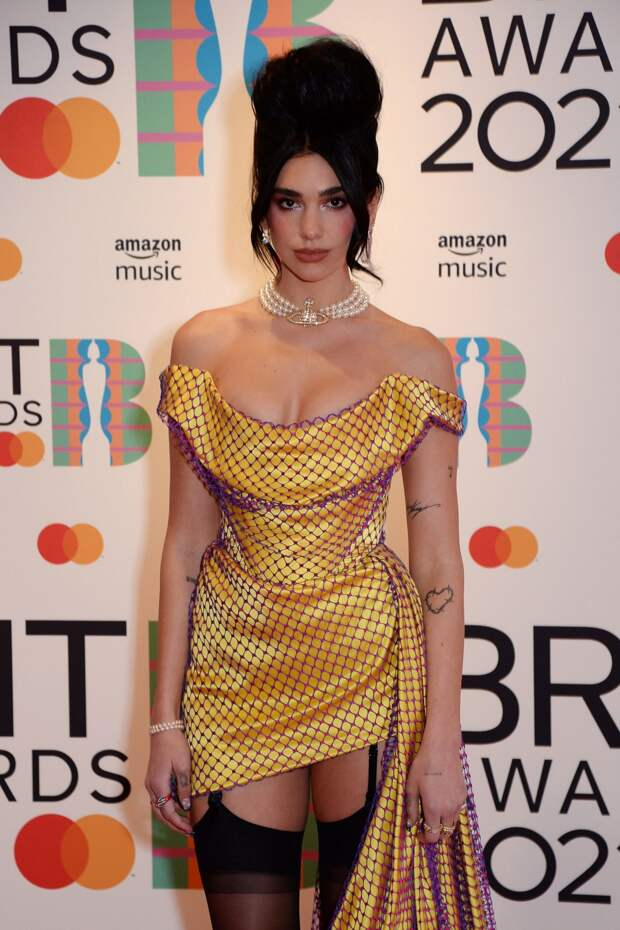Дуа Липа на Brit Awards