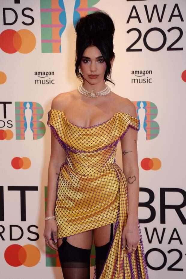 Дуа Липа на Brit Awards