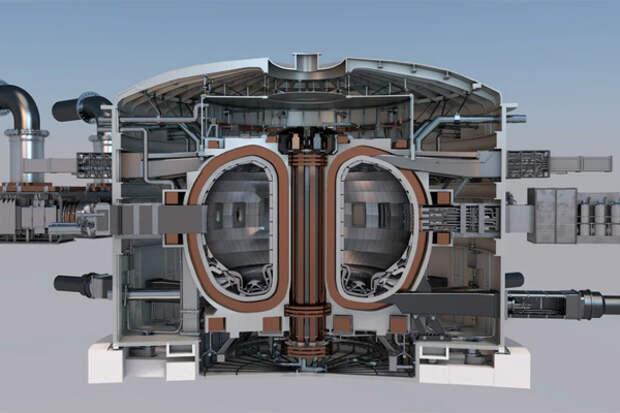 Термоядерный реактор STEP