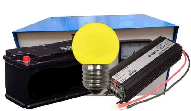 На даче часто отключают свет? (простая схема автоматизированного аварийного электроснабжения)