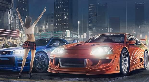 Кроме Need For Speed: Underground... Вспомним другие игры про street racing!